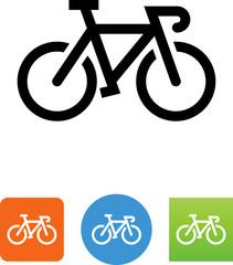 Road Bike Icon - Illustration