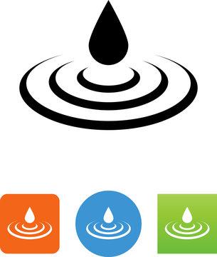 Ripple Icon - Illustration