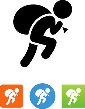 Robber Icon - Illustration