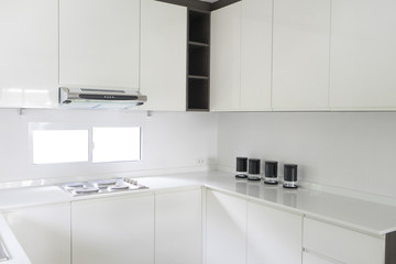 White kitchen contemporary style