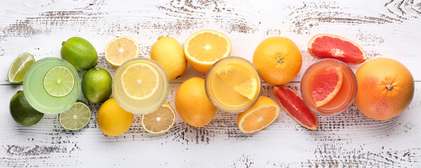 Citrus and lemon juice