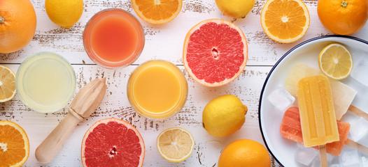 citrus and juice
