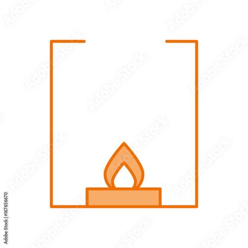 burner laboratory isolated icon vector illustration design stock