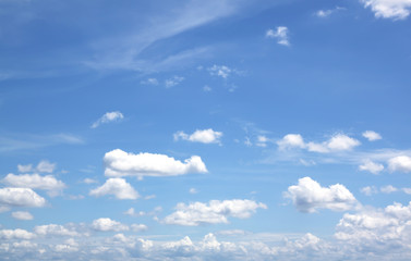 white cloud on blue sky (clouds)