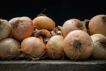 Rustic onions