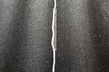 An asphalt road
