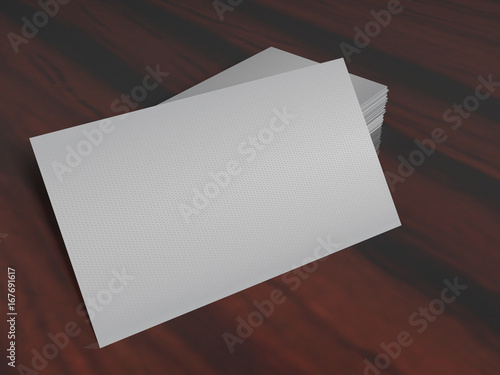 White empty business card on a desk template 3d render high white empty business card on a desk template 3d render high resolution cheaphphosting Choice Image