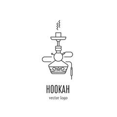 Hookah logo design