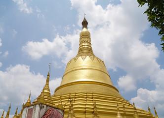 Shwemawdaw Pagoda in Yangon, Myanmar