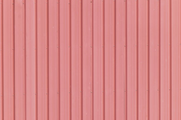 Red roof tile with seamless pattern.