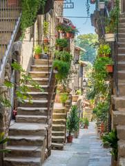 Scenic sight in Vitorchiano, province of Viterbo, Lazio, central Italy.