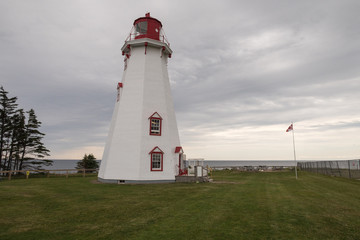 PEI's oldest wooden lighthouse of Panmure Island