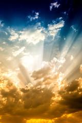 Sun an sky