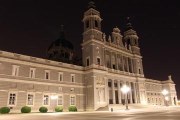 Kathedrahle Madrid bei Nacht II