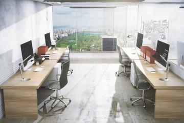 Creative office interior
