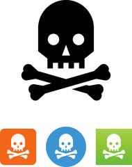 Skull Icon - Illustration
