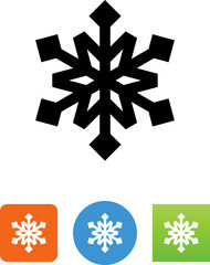 Snowflake Icon - Illustration
