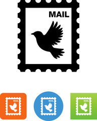 Stamp Icon - Illustration