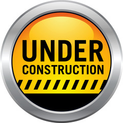 Under Construction Button Icon