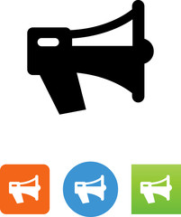 Vector Bullhorn Icon - Illustration