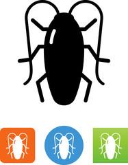 Vector Cockroach Icon - Illustration