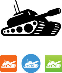 Vector Tank Icon - Illustration
