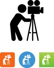 Videographer Icon - Illustration