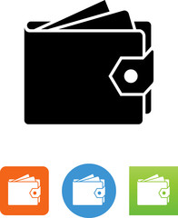 Wallet Icon - Illustration