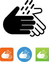 Wash Hands Icon - Illustration