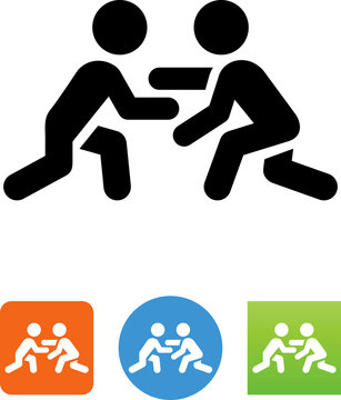 Wrestling Icon - Illustration