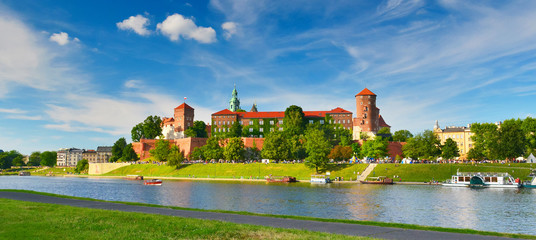 Canvas Prints Krakow Wawel castle, Poland