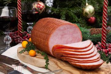 Roasted Glazed Christmas Ham