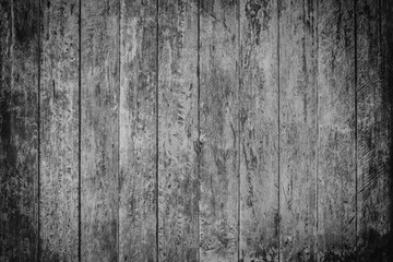Vintage surface wood table and rustic grain texture background. Close up of dark rustic wall made of old wood table planks texture. Rustic brown wood table texture background template for your design.