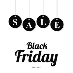 black friday sale card