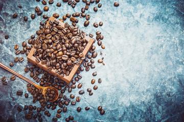 Coffee. Selective focus.