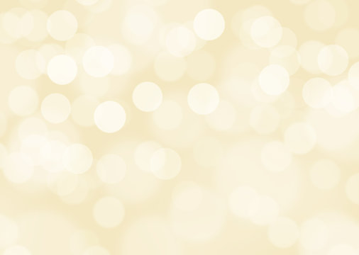 Gold defocused lights background