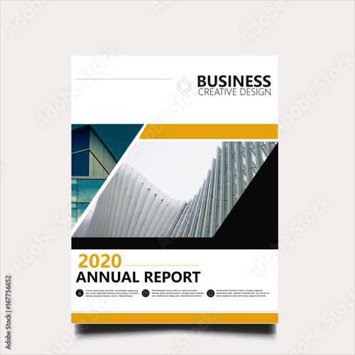 professional annual report cover stock image and royalty free