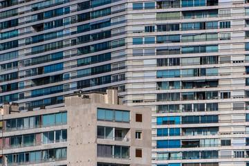 Marseille, barres de la cité de la Rouvière