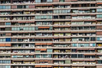 Marseille, barre de la cité de la Rouvière