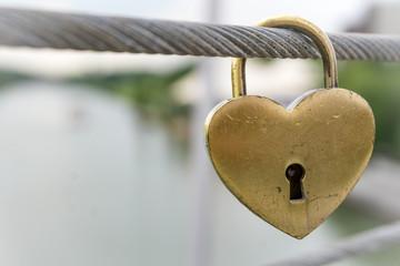 Liebesschloss - Symbol für ewige Liebe