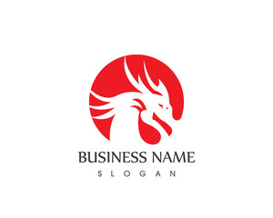 Dragon Head Logo Design