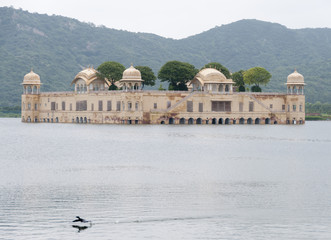 Jal Mahal, Water Palace, in Jaipur India