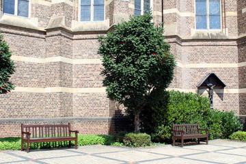 St. Lambertus, Bedburg, im Sommer