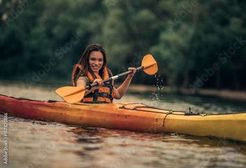 woman and kayak stock photo and royalty free images on fotolia com