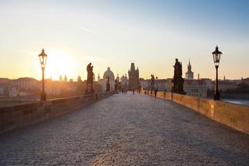 Sunrise, Prague, Charles Bridge