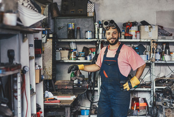 Portrait of a Handyman