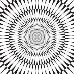 Vector geometric infinity effect background