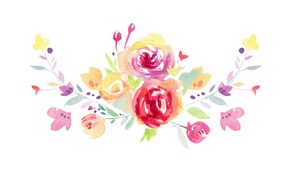 Floral watercolor arrangements, wedding invitations, birthday , thank you cards, bridal shower, baby shower, greeting card, floral design, hand painted