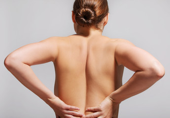 Pain in back spine