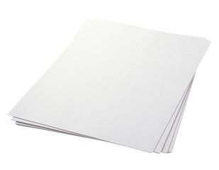白い紙/クリッピングパス付き